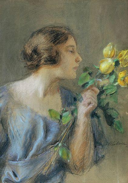 File:Axentowicz - Żółte róże 1907.jpg
