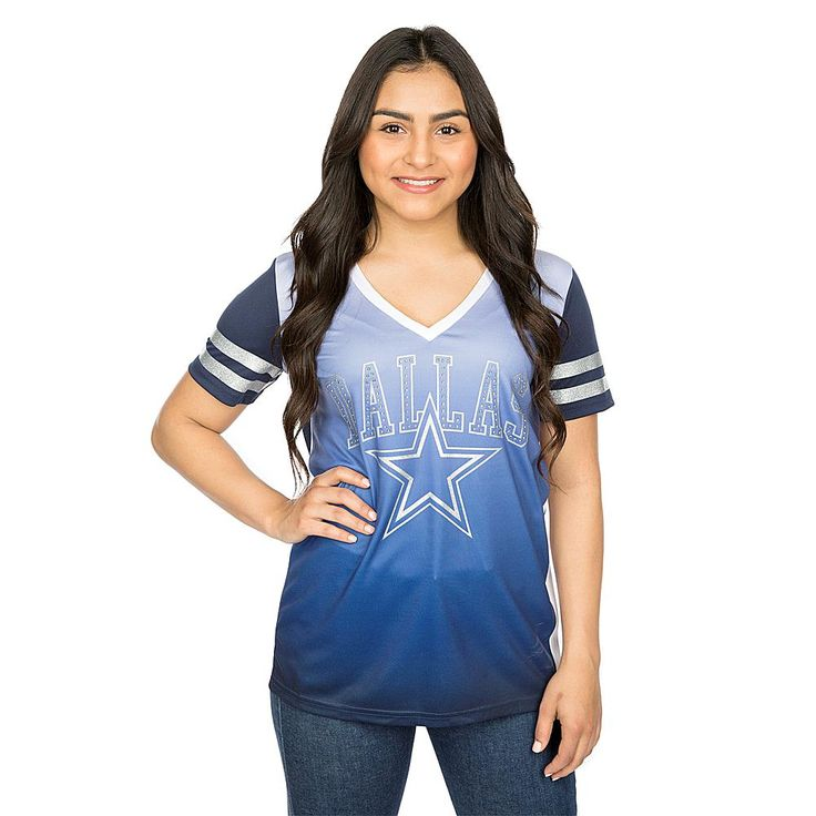 Officially Licensed NFL For Her Dallas Cowboys Draft Me Tee by VF Sportswear