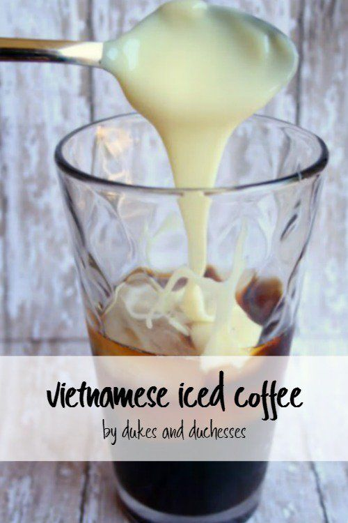 Skip the coffee house this summer and enjoy your own rich vietnamese iced coffee at home!