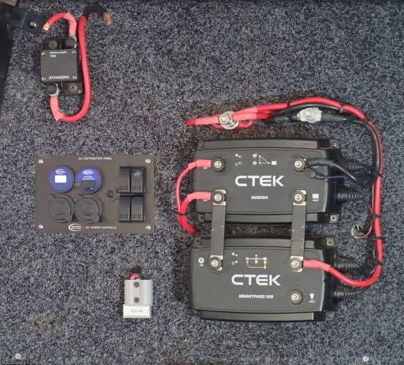 Image Result For Ctek D250sa Wiring Diagram Rv Solar Power Ute Camping Setup