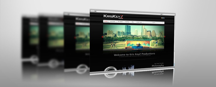 Music Producer Wordpress Website - BMays Graphic Design