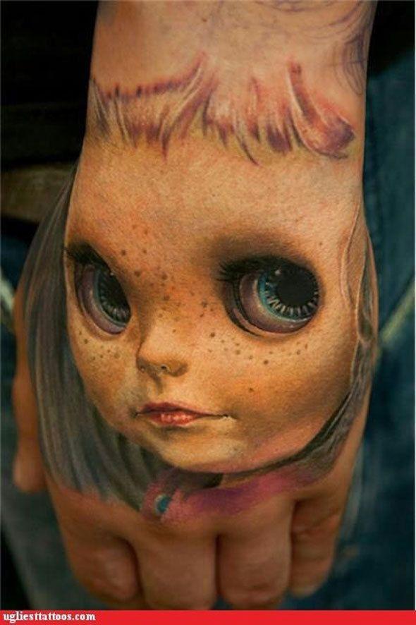 Tattoo Artist - Andy Engel - Doll Face tattoo