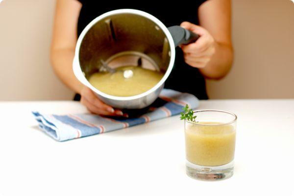 Granizado de kiwi y limón