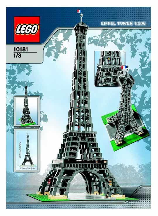 Lego Tour Eiffel 10181