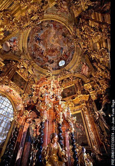 Monasterio de la Cartuja (Granada), una de las obras cumbres de la arquitectura barroca española  / La Cartuja Monastery (Granada), one of the masterpieces of Spanish Baroque architecture