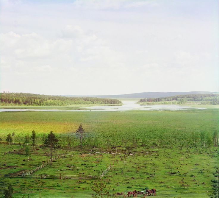Окрестности Екатеринбурга. Начало Верхисетского пруда (с запада)