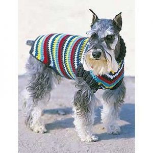 free crochet dog sweater patterns - this one is nice and easy