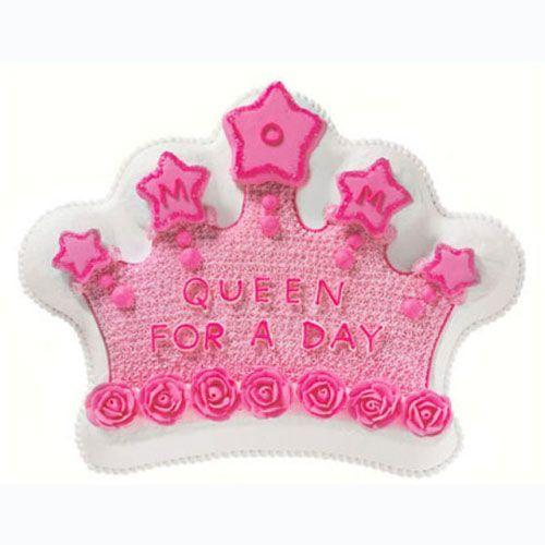 Molde para tarta con forma de corona de princesa. Cubrelo con fondant, crema coloreada, en nuestra tienda tenemos boquillas, colorantes y moldes para hacer tartas chulas y ricas.  #reposteriacreativa #fondant #cupcakes #cortapastas #wilton #instacakes #fondantcakes #birthdaycake #birthdaycakes #tartadecumpleaños #tortadecumpleaños #tartacasera #tarta #moldetarta #moldestartas #reposteria