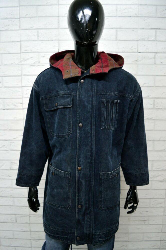 ccf167e6c1 Cappotto BENETTON Uomo Taglia Size XL Giubbino Giubbotto Giacca Coat ...