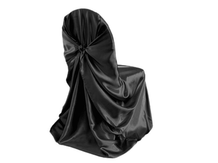 100 pcs SATIN UNIVERSAL CHAIR COVERS Wholesale Wedding Party Ceremony Supplies #CraftsnFavors