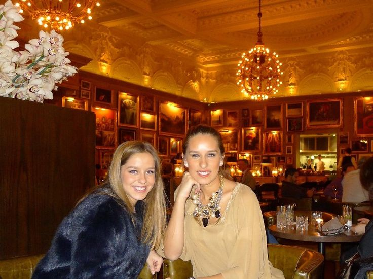London Restaurants – Barners Tavern and Sketch The Gallery  Rita Melo Pinto & Mariana Melo Pinto
