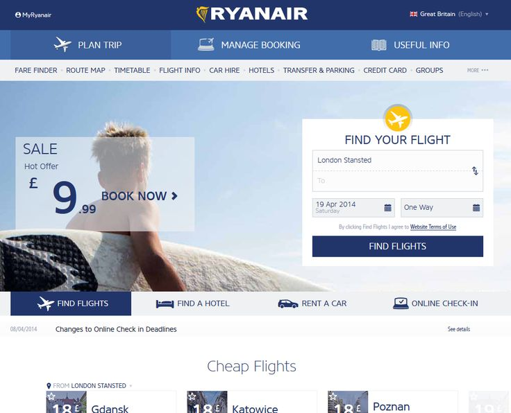 Official ryanair site cheap flights for Site for cheapest flights