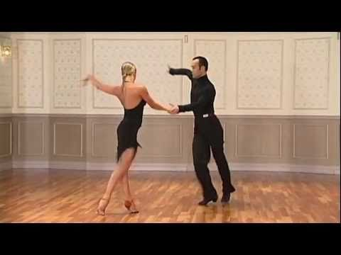 Basic Cha Cha Routine by Franco Formica & Oxana Lebedew  http://www.youtube.com/watch?v=xKeUpU446Xg