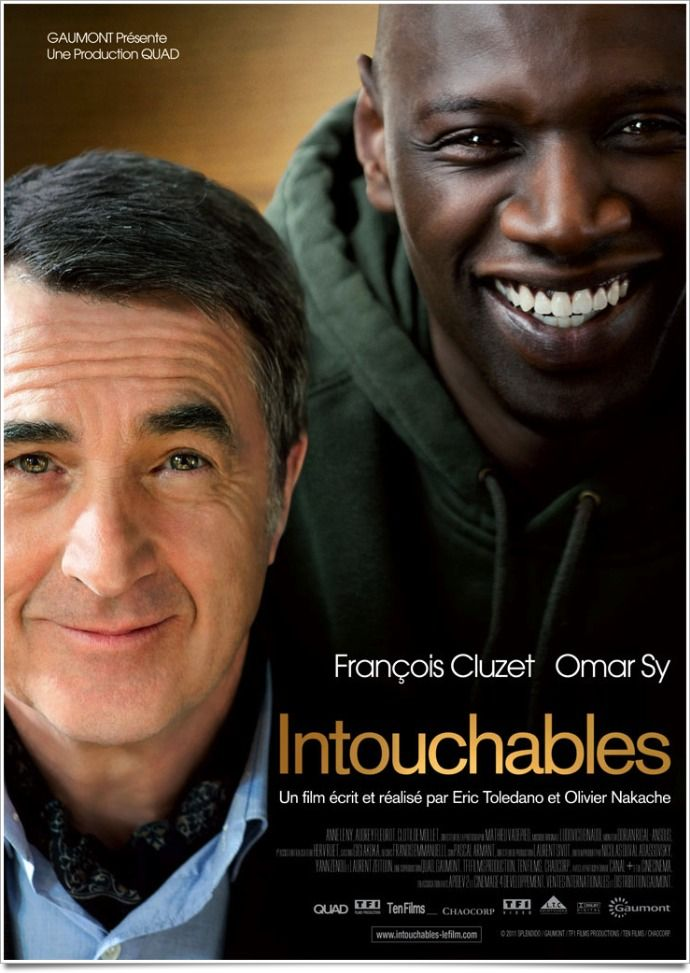 Intouchables (2012). I really, really beautiful movie. I give it a 10/10. I loved it so much!