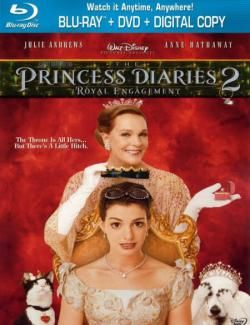 Дневники принцессы 2: Как стать королевой /The Princess Diaries 2: Royal Engagement (2004)  HD 720 (RU, ENG)
