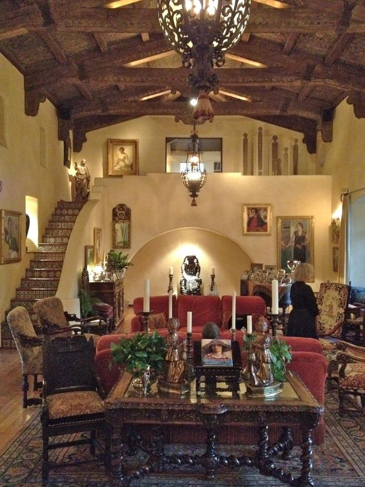 Delightful Spanish Mexican Decor. This Room Is Gorgeous.