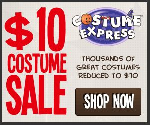 Costumes and Shoes All Only $10.00 Each from Costume Express!