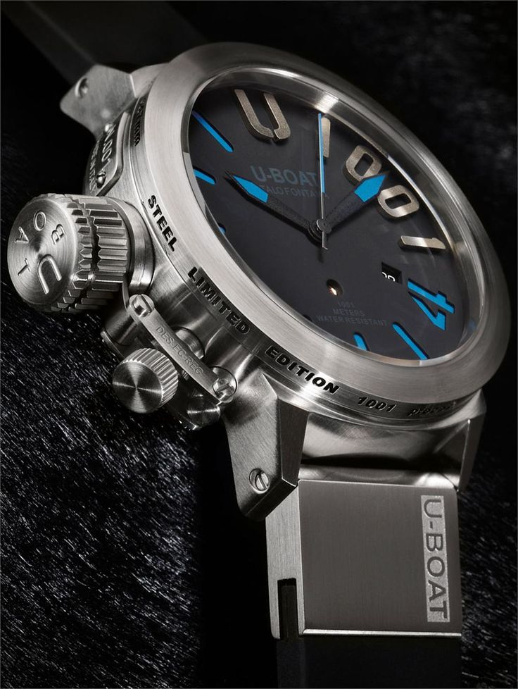 U-Boat Classico 47mm 1001 Meter Blue Limited Edition # ...