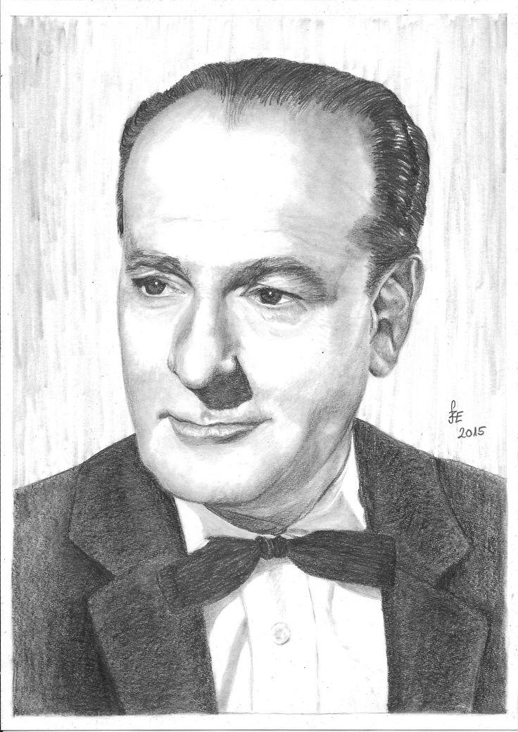 Pencil drawing portrait Ráday Imre by Erika Székesvári https://www.facebook.com/ercziart/