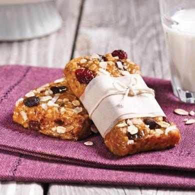 Barres tendres granola sans cuisson - Recettes - Cuisine et nutrition - Pratico Pratique