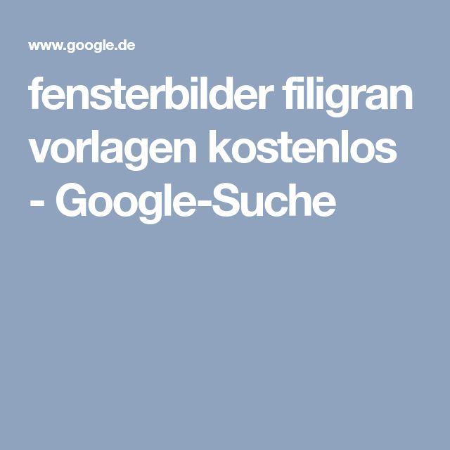Fensterbilder Filigran Vorlagen Kostenlos Google Suche Vorlagen