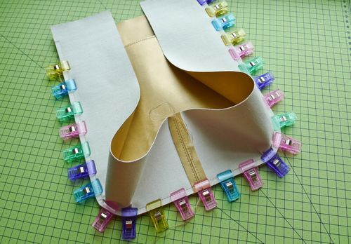 Working and sewing with real / faux leather fabric (incl vinyl or laminated fabric) - U-handblog