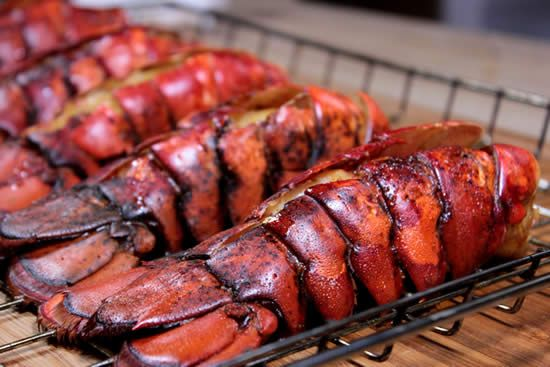 Smoked lobster tails might just be the easiest and the most tasty thing you have ever done on your smoker and it is a perfect Christmas or anytime meal.