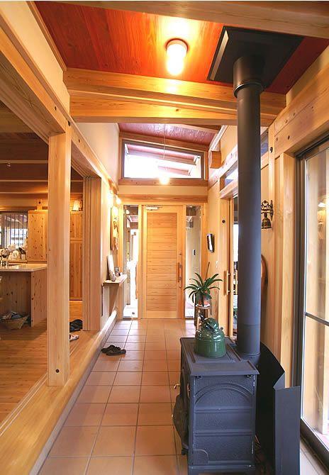 土間のある家|作品集|紀州材を使った木の家、木造住宅、在来工法、民家型工法、地域密着型(和歌山県)、外断熱通気工法の住宅設計|一級建築士事務所 中村伸吾建築設計室
