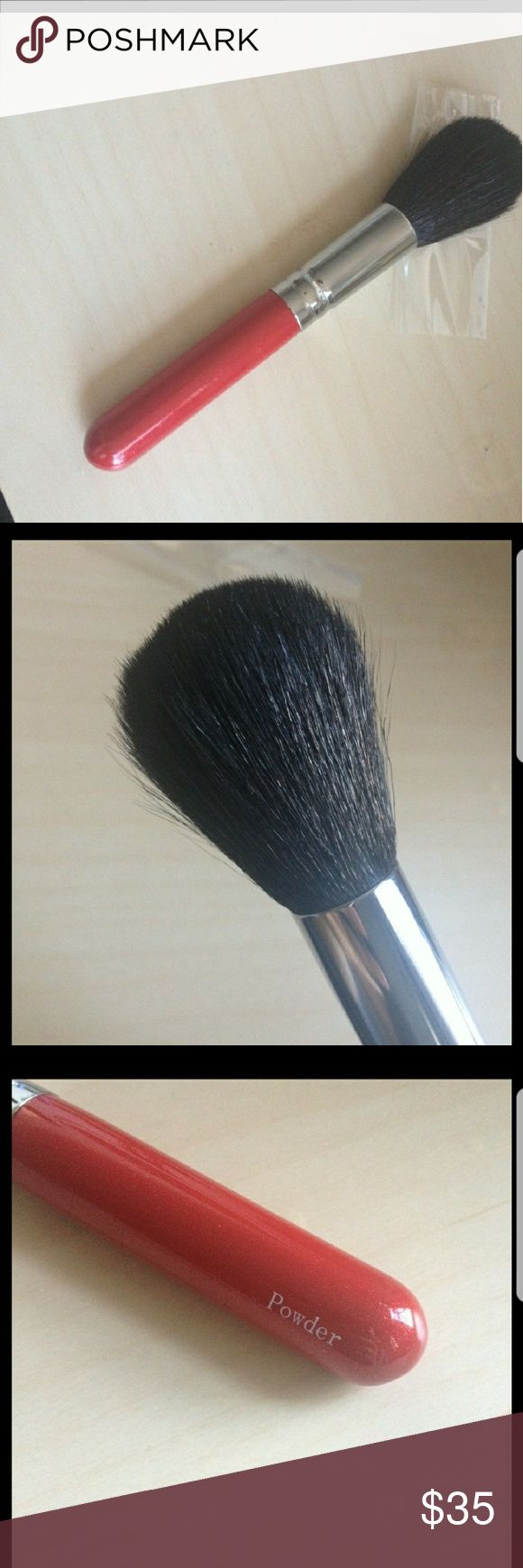 "HAKUHODO J104 POWDER BRUSH Excellent brush. I used it only a handful of times. ""Hakuhodo is a prestige makeup brush line that produces brushes under its own name, but it is also an OEM (original equipment manufacturer), which means it will create brushes to another company's specifications. For instance, it is rumored that Tom Ford's brushes are manufactured by Hakuhodo.""  ""For those most familiar with MAC brushes, this is most comparable toMAC's 150."" HAKUHODO Makeup Brushes & Tools"