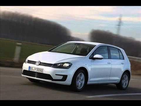 2014 Volkswagen Golf-E mk7 electric hybrid - Geneva Auto Show 2013 - horsepower specs review GTI