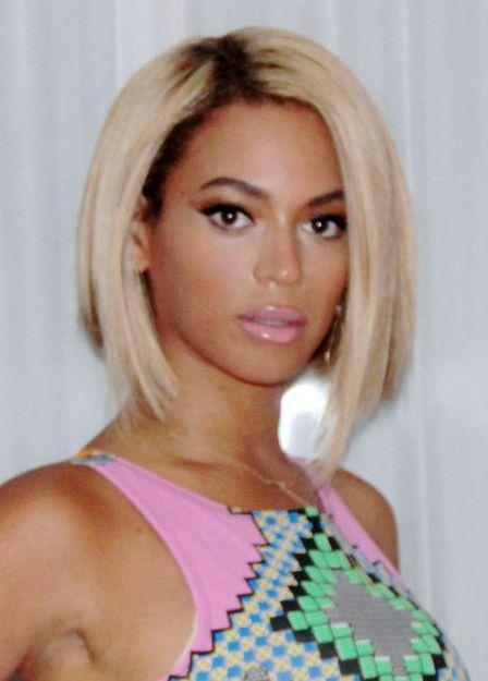 Beyonce Short Hair Bob