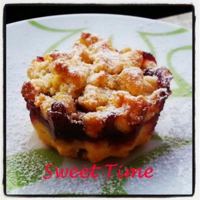 Sweet Time: Mini sbriciolate ai frutti di bosco