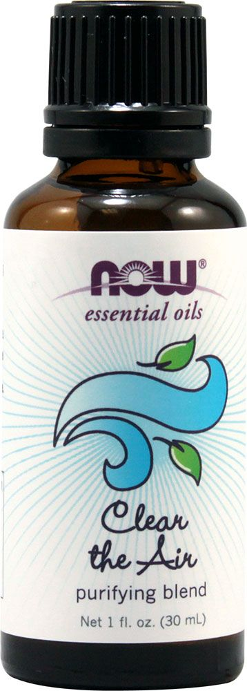 NOW Foods Essential Oils Clear the Air -- 1 fl oz