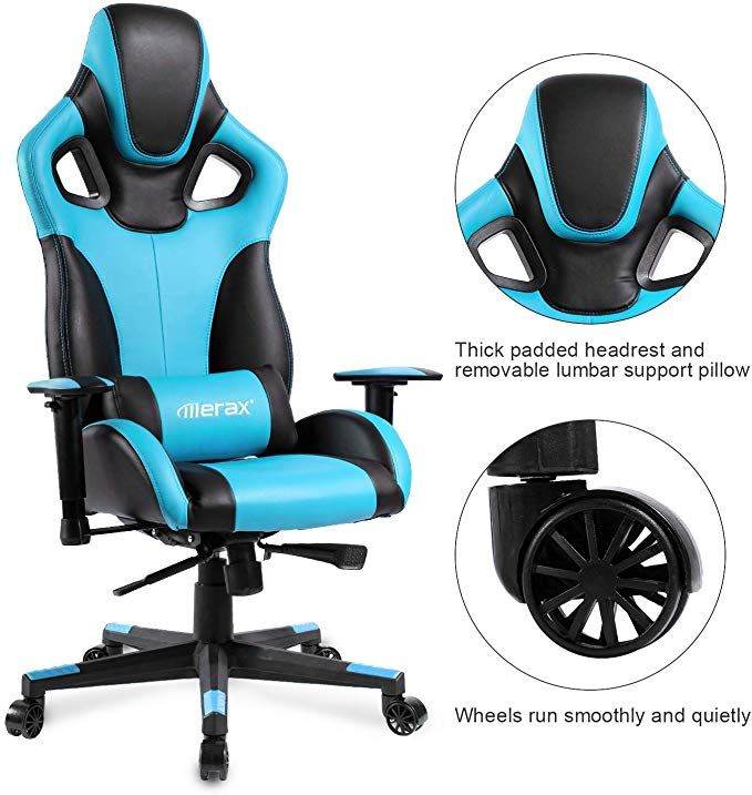 Merax Racing Style Office Chair Gaming Ergonomic With Adjustable Armrests Home Office Computer Chair Red Upgrade G Computer Chair Beach Chair Umbrella Chair