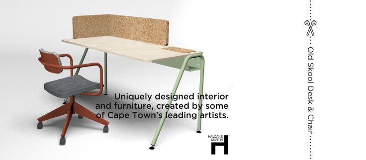 Daddy.O - custom desks & chairs designed by Haldane Martin (Cape Town's friendliest and trendiest furniture designer)