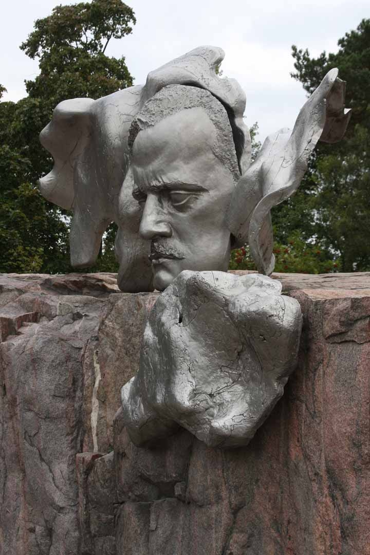 Jean Sibelius monument in Helsinki. photo by Morgan Thomas