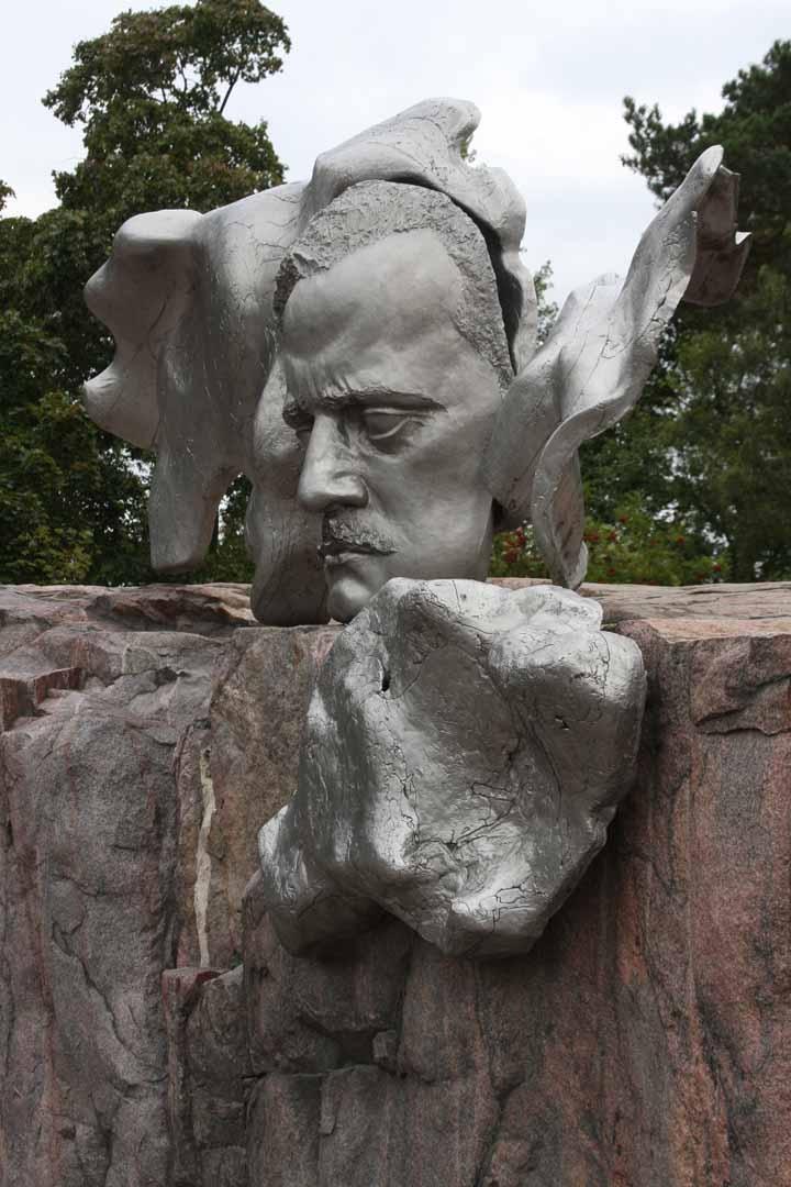 Jean Sibelius monument in Helsinki. photo by Morgan Thomas