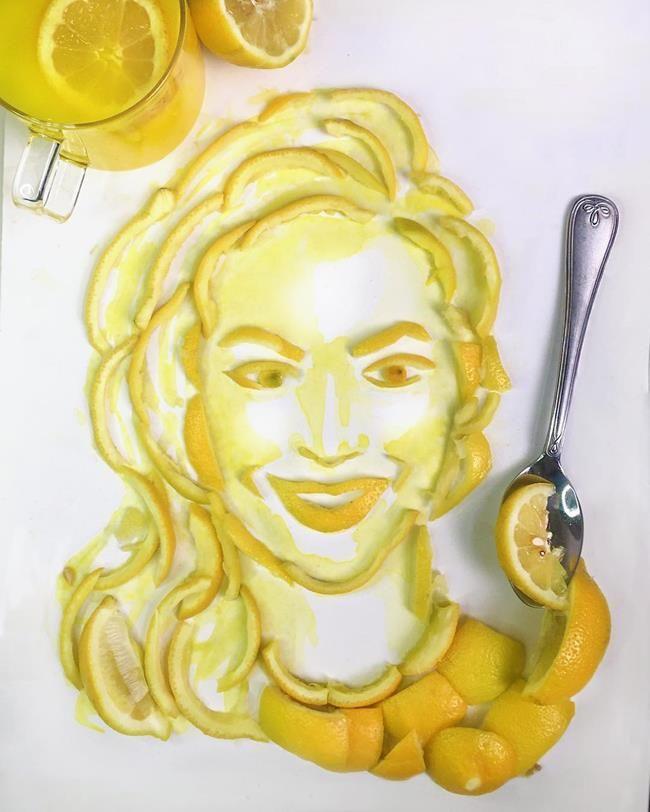 Gündelik Objeler ve Yiyeceklerle Ünlü Portreleri Resmeden Sanatçı: Jessie Bearden Sanatlı Bi Blog 33