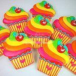 NeonCupcakes por Cookievonster