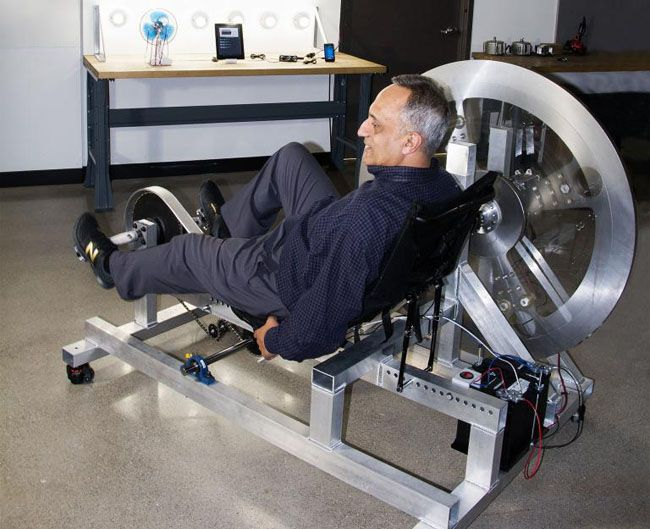 A Workout For An Hour Every Day On This Bike Can Power A Small Home For Twenty-Four Hours... - http://www.ecosnippets.com/alternative-energy/bike-can-power-a-small-home/