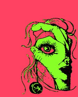 gif love death art trippy music weird lsd hands acid psychedelic trip artwork colorful ugly dead animated gif color Alternative satanism digital art techno bizarre Paganism neo-psychedelia