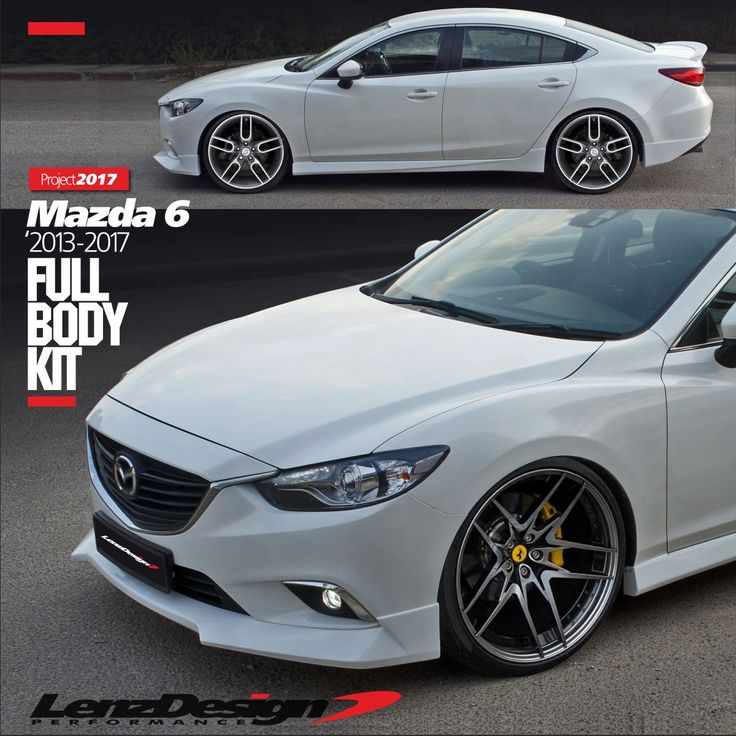 42 best mazda 6 gj atenza tuning body kit lenzdesign. Black Bedroom Furniture Sets. Home Design Ideas