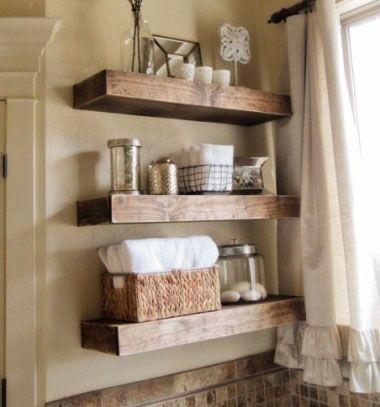 Easy DIY floating shelves // Lebegő polcok házilag egyszerűen // Mindy - craft & DIY tutorial collection