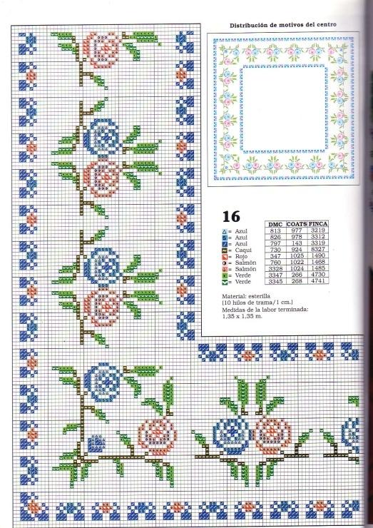Gallery.ru / Фото #7 - ******toalhas de mesa****** - celita