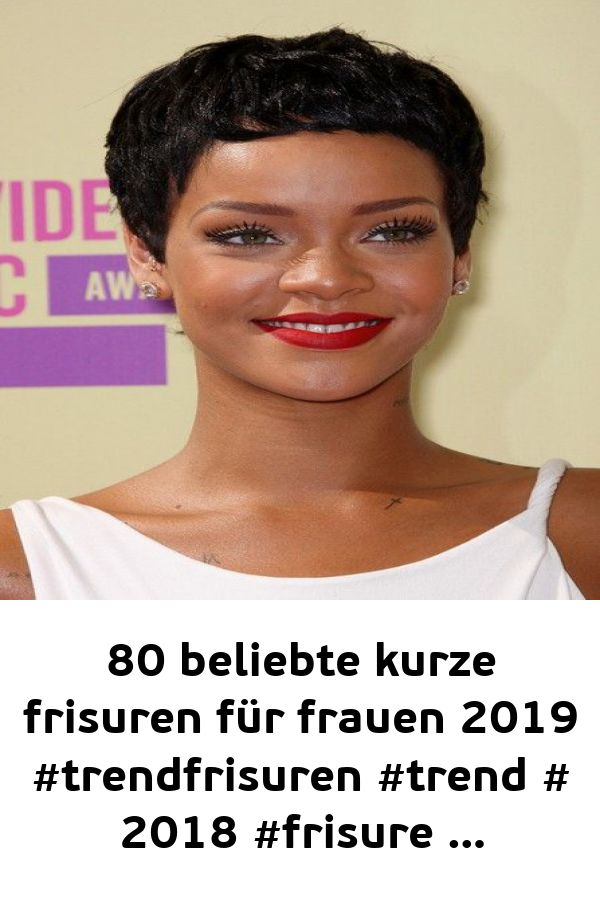 80 popular short hairstyles for women 2019 #trend hairstyles #trend # 2018 #frisure …