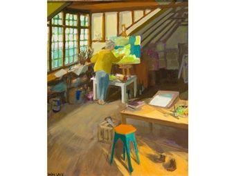 The Artist in her Studio By Marjorie Wallace