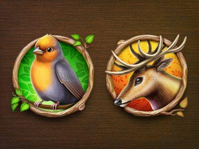 Great nature icons. #icon #design #illustration