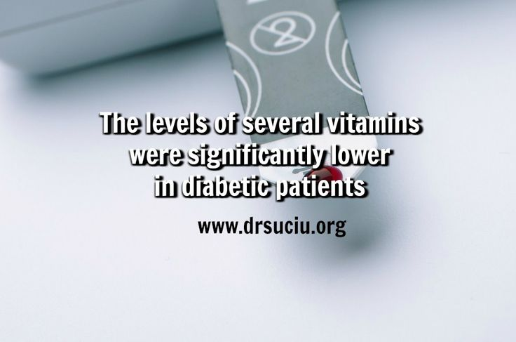 Picture drsuciu Vitamins levels in diabetic patients