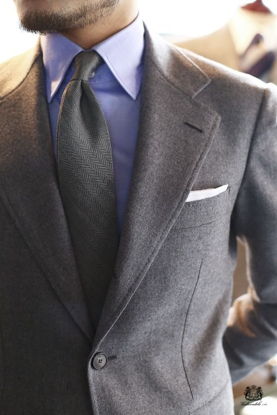 Men's Fashion | Menswear | Men's Outfit for the Office | Grays and Lilac | Moda Masculina | Shop at designerclothingfans.com