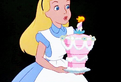 Alice In Wonderland birthday